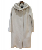 allureville(アルアバイル)の古着「ダブルエアリービーバーフードコート」|グレー