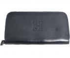 HIROFU(ヒロフ)の古着「ラウンドファスナー財布」|ダークネイビー