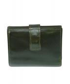 土屋鞄(ツチヤカバン)の古着「財布」|グリーン
