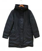 COMME CA(コムサ)の古着「モッズダウンコート」 ブラック