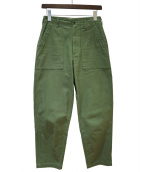 THE SHINZONE(ザ シンゾーン)の古着「ベイカーパンツ」|オリーブ