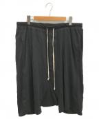 DRKSHDW(ダークシャドウ)の古着「サルエルショーツ」 ブラック