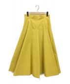 SHE TOKYO(シートーキョー)の古着「スカート」|イエロー