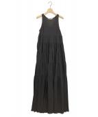 MARIHA(マリハ)の古着「虹のドレス」|ブラック