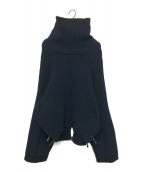 TOGA PULLA(トーガ プルラ)の古着「ボリュームニット」|ネイビー