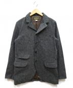 ORGUEIL(オルゲイユ)の古着「ヘリンボーンジャケット」|グレー