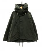 THE RERACS(ザ リラクス)の古着「ショートモッズコート SHORT MODS COAT」|オリーブ