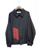 LEGENDA(レジェンダ)の古着「オーバーサイズコーチジャケット」|ブラック