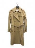 BEAUTY&YOUTH(ビューティアンドユース)の古着「60/2コットンレギュラートレンチコート」 ベージュ