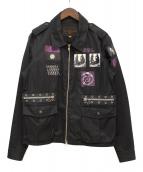 UNDERCOVERISM(アンダーカバイズム)の古着「06SS M65ジャケット」 ブラック