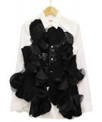 JUNYA WATANABE COMME des GARCONS(ジュンヤワタナベ コムデギャルソン)の古着「デザインシャツ」|ホワイト