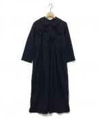 COMME des GARCONS GIRL(コムデギャルソン ガール)の古着「リボンワンピース」|ネイビー