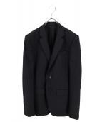 GIVENCHY(ジバンシィ)の古着「ノッチドラペル2Bジャケット」|ネイビー