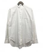 Bagutta(バグッタ)の古着「バンドカラーシャツ」|ホワイト