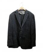 CORNELIANI(コルネリアーニ)の古着「ツイードジャケット」|グリーン