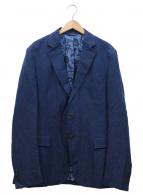 ETRO(エトロ)の古着「ペイズリージャガードジャケット」|ネイビー