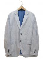 ETRO(エトロ)の古着「2Bジャケット」|スカイブルー