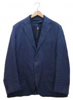 CORNELIANI(コルネリアーニ)の古着「リネン混ブレザー」|ネイビー