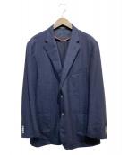 CORNELIANI(コルネリアーニ)の古着「ウール2Bジャケット」|ネイビー