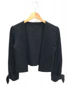 FOXEY NEWYORK(フォクシーニューヨーク)の古着「ボレロ」|ブラック