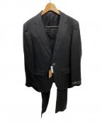 COMME CA MEN(コムサメン)の古着「セットアップスーツ」|ブラック