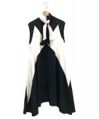 GIVENCHY(ジバンシィ)の古着「スカーフカラードレス」