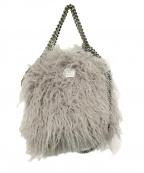 STELLA McCARTNEY(ステラマッカートニー)の古着「Falabella Faux Fur Tote」|グレー