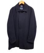 SHIPS(シップス)の古着「ドスキンソリッドコート」|ネイビー