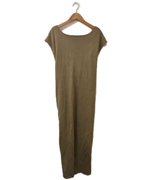 COEL(コエル)COEL (コエル) バッククロスワンピース グリーン サイズ:Fの古着・服飾アイテム