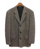 COMME des GARCONS HOMME(コムデギャルソンオム)の古着「ツイードテーラードジャケット」|グレー