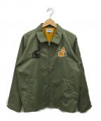 ROTAR(ローター)の古着「スーベニアジャケット」|オリーブ