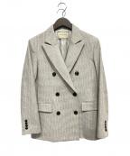 UNITED ARROWS TOKYO()の古着「ドビーチェックジャケット」|ベージュ