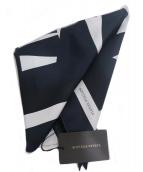 BOTTEGA VENETA(ボッテガヴェネタ)の古着「シルクスカーフ」|ブラック