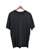 OAMC(オーエーエムシー)の古着「Ribbed Detail T-shirt」|ブラック