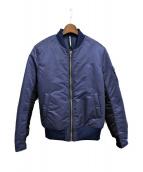 ripvanwinkle(リップヴァンウィンクル)の古着「MA-1ジャケット」|ネイビー