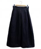 R&D.M.Co-OLDMANS TAILOR(アールアンドディー エム コー オールドマンズテーラー)の古着「スカート」|ネイビー