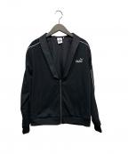 Karl Lagerfeld(カール ラガーフェルド)の古着「トラックジャケット」|ブラック