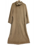 MaxMara(マックスマーラ)の古着「ロングウールコート」|ベージュ