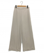 LAppartement(アパルトモン)の古着「RAW+ Soft Wide パンツ」|ベージュ