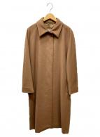 MaxMara(マックスマーラ)の古着「ヴァージンウールステンカラーコート」|キャメル