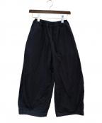 YACCO MARICARD(ヤッコマリカルド)の古着「イージーワイドパンツ」|ブラック