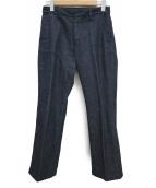 Hysteric Glamour(ヒステリックグラマー)の古着「デニムフレアパンツ」|インディゴ