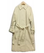 IENA LA BOUCLE(イエナ ラ ブークル)の古着「ステンカラーコート」|アイボリー