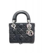 Christian Dior(クリスチャンディオール)の古着「レディディオールミニ」 ブラック
