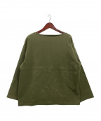 OUTIL(ウティ)の古着「ビッグシルエットバスクシャツ」 オリーブ