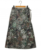 TOKUKO1erVOL(トクコプルミエヴォル)の古着「ジャガードスカート」 ブラック
