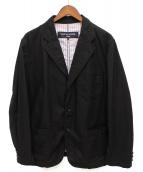 COMME des GARCONS HOMME(コムデギャルソンオム)の古着「3Bテーラードジャケット」|ブラック