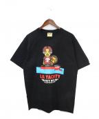 BAPE BY A BATHING APE(ベイプバイアベイシングエイプ)の古着「Tシャツ」|ブラック