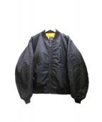 BEAMS(ビームス)の古着「MA-1ジャケット」 ブラック
