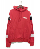 SWAGGER(スワッガー)の古着「SWITCHED P/O HOODIE」|レッド